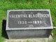 Profile photo:  Valentine J. Blackinger