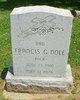 "Profile photo:  Francis G, ""Buck"" Dole"