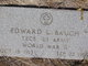 "Edward Lewallen ""Boney"" Baugh"