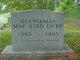 Glendalia Mae <I>King</I> Duff
