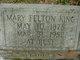 Mary Hart <I>Felton</I> King