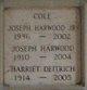 Joseph Harwood Cole, Sr