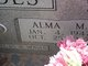 Alma Mare <I>Zwahr</I> Brandes