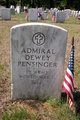 Profile photo:  Admiral Dewey Pensinger