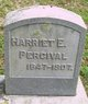 Profile photo:  Harriet E Percival