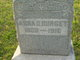 Profile photo:  Anna D <I>Kensinger</I> Burget