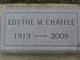 Profile photo:  Edythe Chaffee