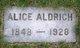 Alice J Aldrich