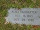 Alma Marie <I>Lewis</I> Vannatter