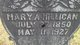 Mary Ann <I>Whitehead</I> Millican