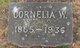 Profile photo:  Cornelia W. Bevier