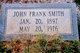"John Franklin Layfette ""Frank"" Smith"