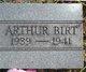 Profile photo:  Arthur Lee Birt
