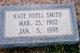 Kate Elizabeth <I>Odell</I> Smith