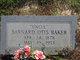 "Profile photo:  Barnard Otis ""Uncle"" Baker"