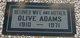 Olive Adams
