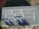 Alta May Hagood