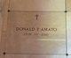Profile photo:  Donald P. Amato