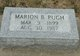 Marion Elizabeth <I>Baldwin</I> Pugh