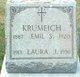 Profile photo:  Emil S. Krumeich