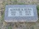 Minnie Blanche <I>Hall</I> Burr