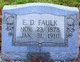 Enoch Dewey Faulk, Sr