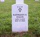 Kathleen E Evans