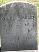 Phebe E <I>Warren</I> Allen