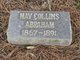 Profile photo:  May <I>Collins</I> Abraham
