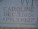 Caroline Elizabeth <I>Scott</I> White