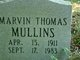 Marvin Thomas Mullins