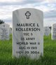 Maurice L Rollerson