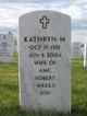 Kathryn M Weeks