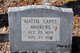 Mattie M <I>Capps</I> Andrews