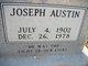 Joseph Austin Higginbotham