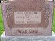 Edith Alice <I>Gill</I> Warner