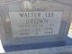 Walter Lee Brown