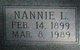 Profile photo:  Nannie L Mitchell