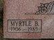 Profile photo:  Myrtle B. Farson