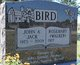 "Profile photo:  John Alfred ""Jack"" Bird"