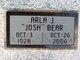 "Profile photo:  Arla Jean ""Josh"" <I>Presley</I> Bear"