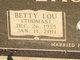 Betty Lou <I>Thomas</I> Lackey