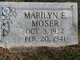 Profile photo:  Marilyn E. Moser