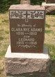 Clara <I>Nye</I> Adams