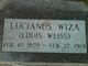 """Lucian """"Louis"""" Weiss"""
