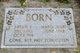 Profile photo:  Abram Carl Born