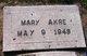 Mary Akre