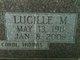 Lucille Margaret <I>Sullivan</I> Hyland