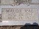Maudie Mae <I>Prine</I> Fenn