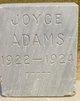 Profile photo:  Joyce Adams